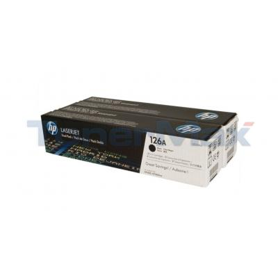 HP 126A TONER CARTRIDGES BLACK DUAL PACK